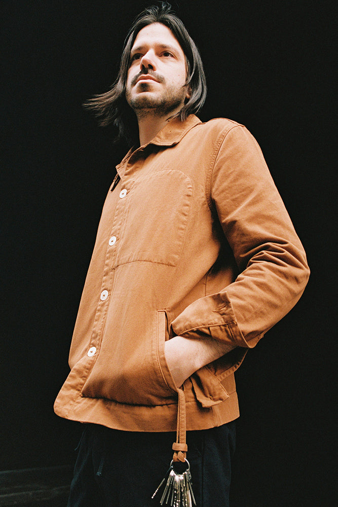 SlowMov jacket in tobacco