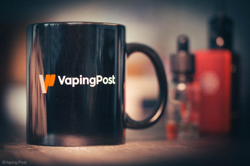 Vaping Post Black Mug