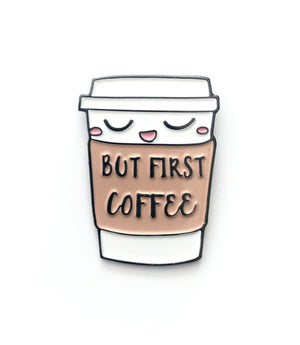 COFFEE FIRST PIN