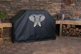 African Elephant Head BBQ Grill Cover