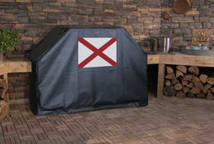 Alabama State Flag Grill Cover