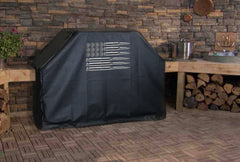 The American Flag Ammo BBQ Grill Cover