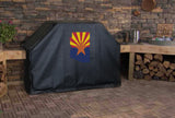 Arizona State Outline Flag Grill Cover