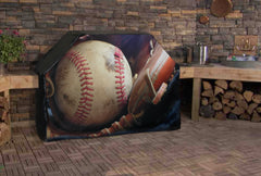 Baseball Grill Cover