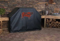 Beef Cuts Grill Cover