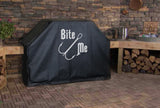 Bite Me Fishing Lure Grill Cover