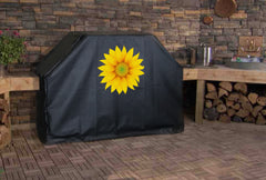 Yellow Sunflower Grill Cover