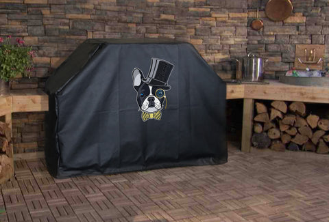 French Bulldog Top Hat BBQ Grill Cover