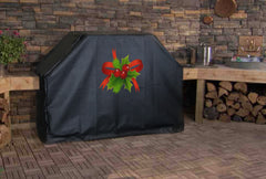 Christmas Holly Grill Cover