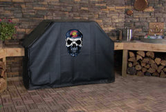 Colorado State Flag Skull Grill Cover