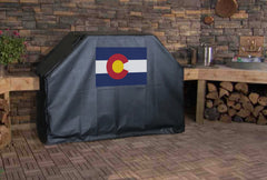 Colorado State Flag Grill Cover