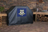 Connecticut State Flag Grill Cover