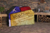 We the People Full BBQ Grill Cover