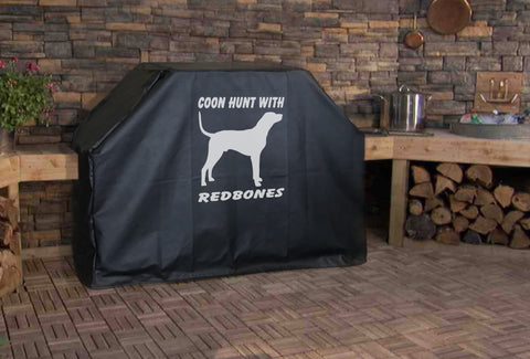 Coon Hunt with Redbones Grill Cover