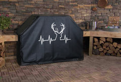 Deer Heartbeat Logo Grill Cover