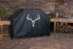Deer Skull Bow Hunt Grill Cover