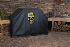 Dont Tread on Me Flag Skull Grill Cover