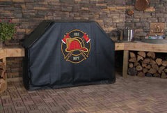 Fire Department Maltese Cross Badge Grill Cover