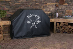 Fish Fear Me Grill Cover