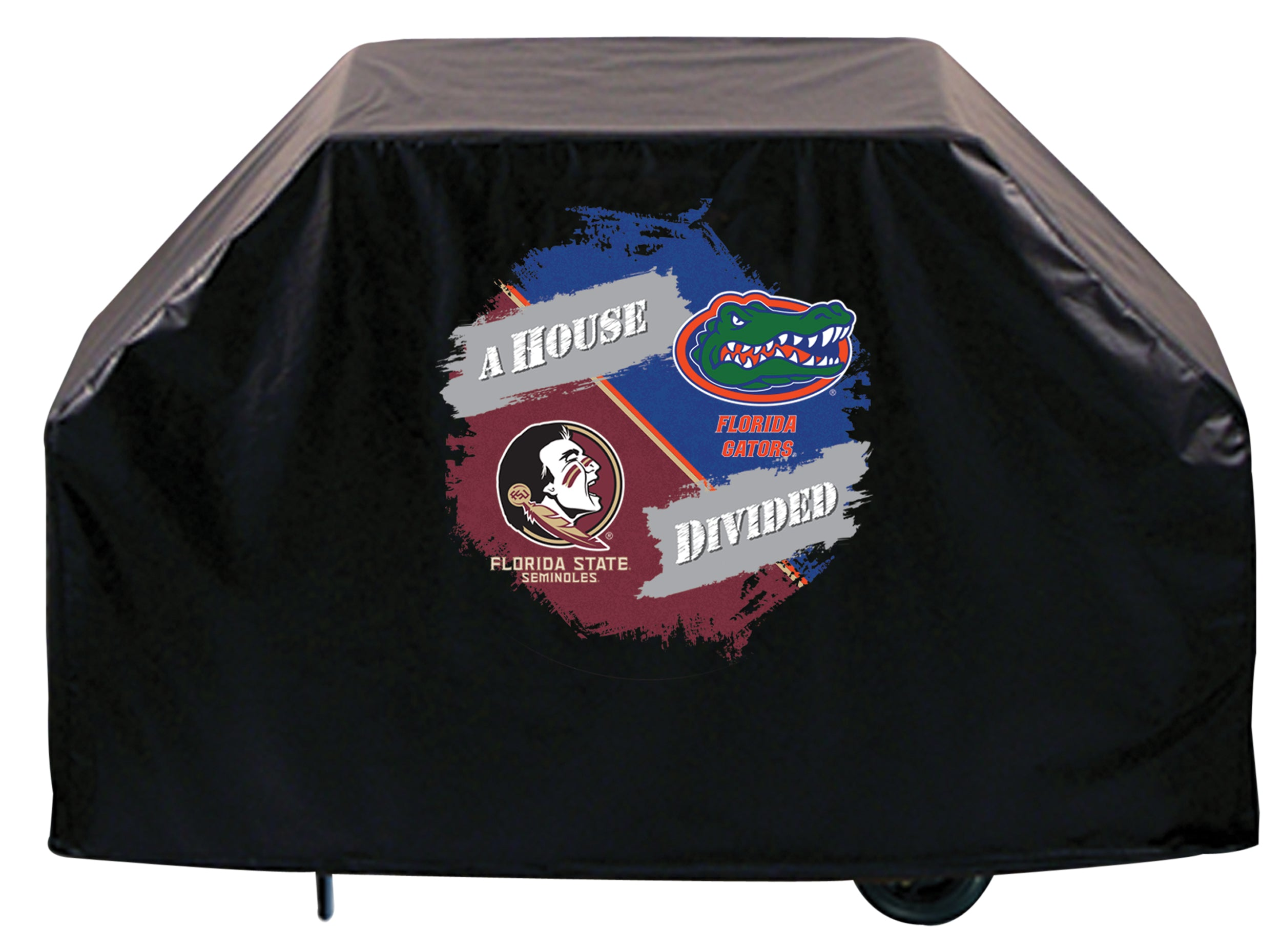 House Divided Bbq Grill Cover With Fsu Head And University Of Florida Grill Cover Store