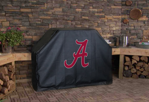 Alabama BBQ Grill Cover with Script Logo