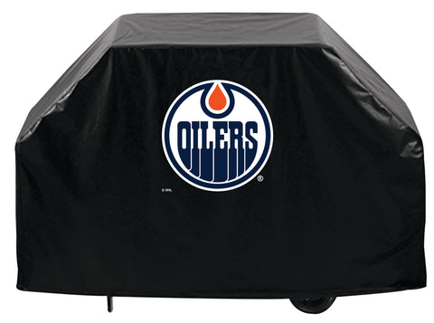Edmonton Oilers BBQ Grill Cover