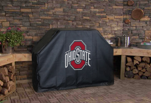 Ohio State University BBQ Grill Cover