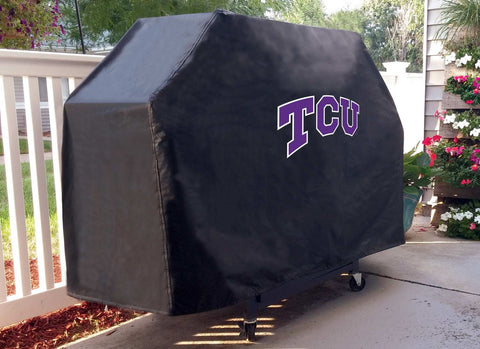 Texas Christian University BBQ Grill Cover