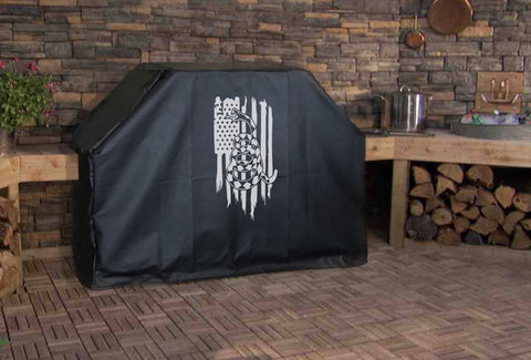 Gadsden American Flag Grill Cover
