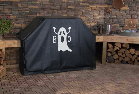 Ghost Boo Grill Cover