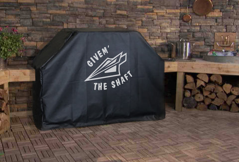 Givem' the Shaft Grill Cover