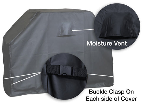 The Buck Drops Here Grill Cover