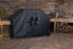 Headless Horseman Halloween Grill Cover