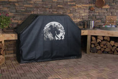 Headless Horseman with Moon Grill Cover
