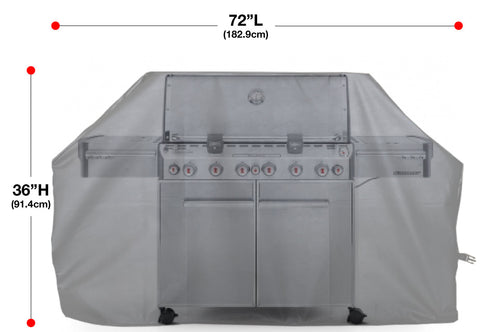 American Fighter Jet Full BBQ Grill Cover