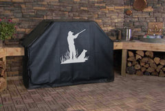 Hunting with Best Friend Grill Cover