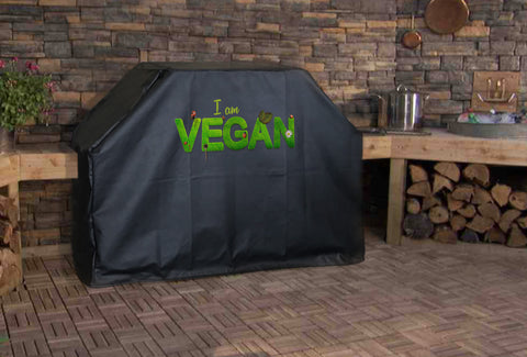I am Vegan Grill Cover