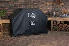 Lake Life Custom Grill Cover