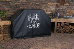 Life is Better at the Lake Grill Cover