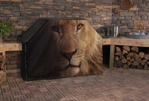 Lion Head Full BBQ Grill Cover