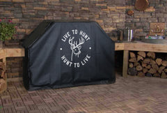 Live to Hunt, Hunt to Live Grill Cover
