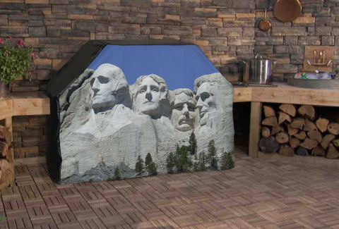Mount Rushmore Full BBQ Grill Cover