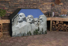 Mount Rushmore Grill Cover