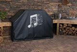 Music Notes Grill Cover