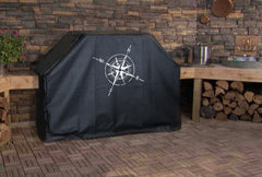 Nautical Compass Grill Cover