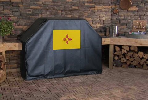 New Mexico State Flag Grill Cover