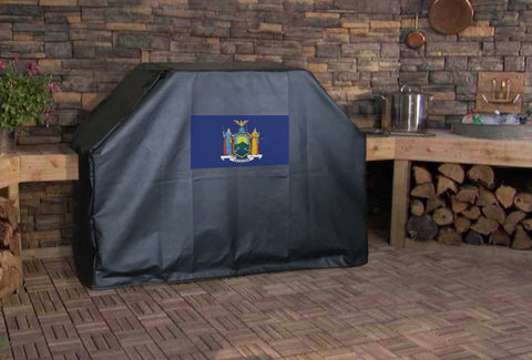 New York State Flag Grill Cover