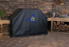New York State Outline Grill Cover