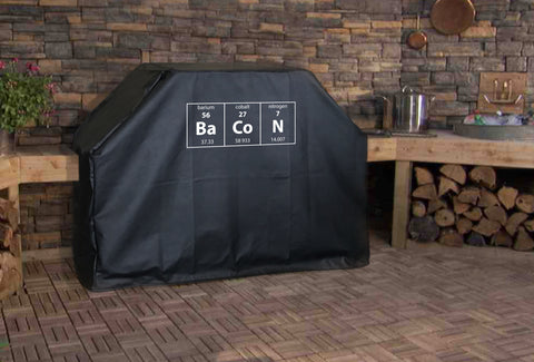 Periodic Table Bacon BBQ Grill Cover