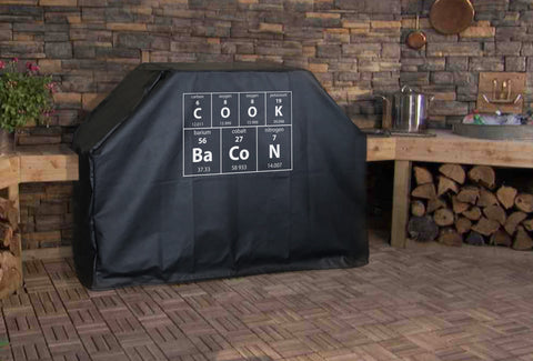 Periodic Table Cook Bacon BBQ Grill Cover